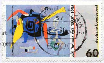 Deutsche Bundespost, Wert 60 Pfennig