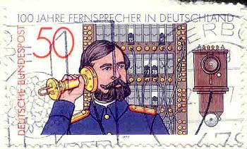 Deutsche Bundespost, Wert 50