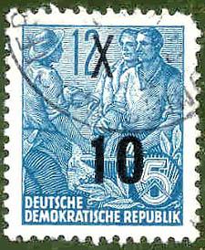Deutsche Demokratische Republik, Wert 12