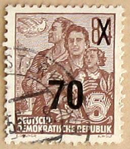 Deutsche Demokratische Republik, Wert 84