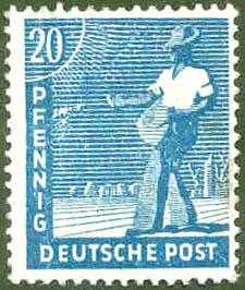 Deutsche Post, Wert 20