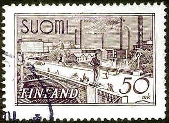 Finnland, Wert 50 mk