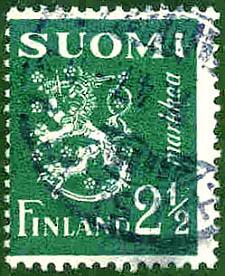 Finnland, Wert 2,5 markkaa