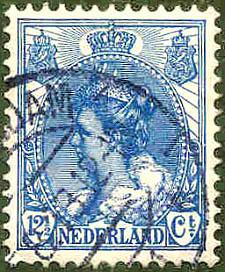 Niederlande, Wert 12 1/2 Cent