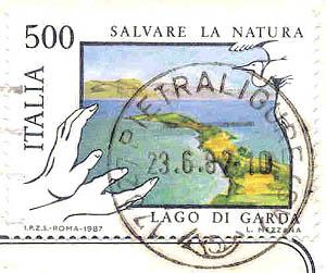Poste Italiana, Wert 500 Lire, 1987