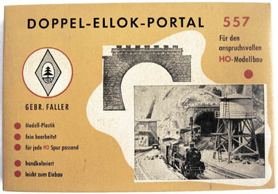 Faller Tunnelportal 557