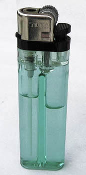 Tokai Feuerzeug - Reibradfeuerzeug transparent hellgrün