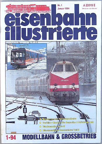Eisenbahn Illustrierte - Ausgabe 1/1994