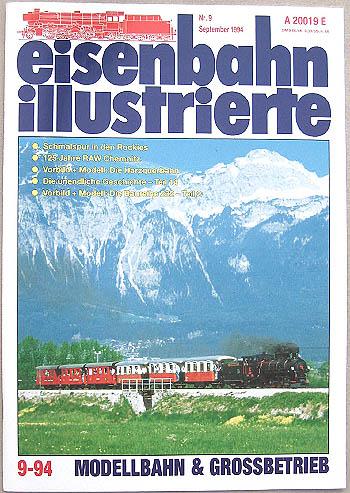 Eisenbahn Illustrierte - Ausgabe 9/1994