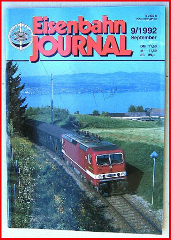 Eisenbahn Journal - Ausgabe 9/1992
