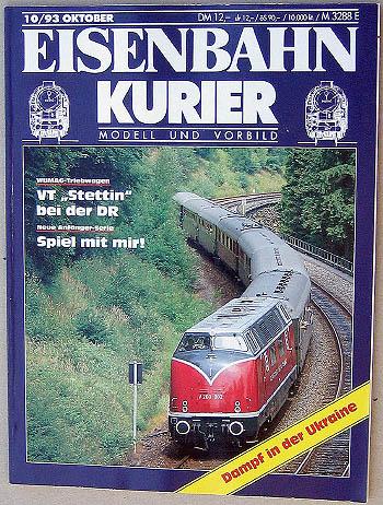 Eisenbahn Kurier - Ausgabe 10/1993