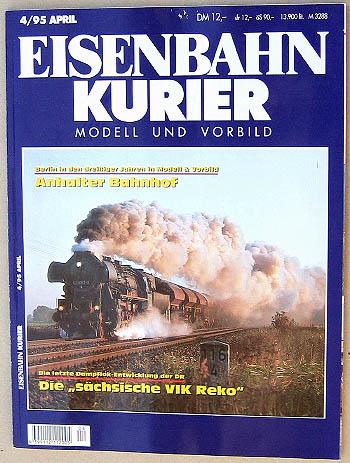 Eisenbahn Kurier - Ausgabe 4/1995