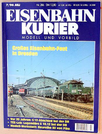 Eisenbahn Kurier - Ausgabe 7/1996