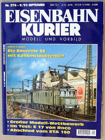 Eisenbahn Kurier - Ausgabe 9/1995