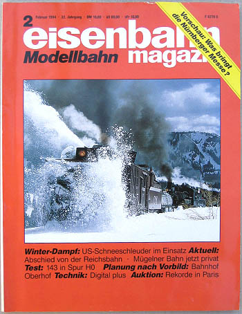 Eisenbahn Magazin - Ausgabe 2/1994