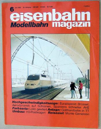 Eisenbahn Magazin - Ausgabe 4/1985