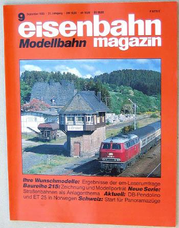 Eisenbahn Magazin - Ausgabe 9/1993