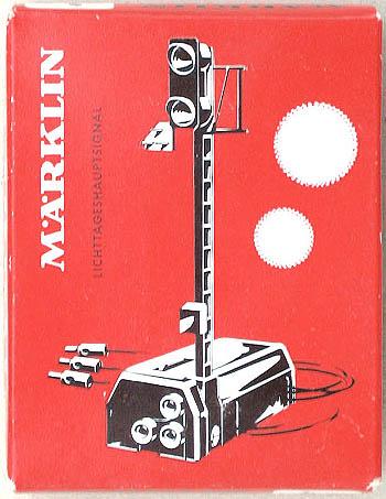 Leerkarton für Lichtsignal