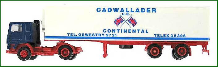Herpa H0 LKW Sattelzug - Cadwallader