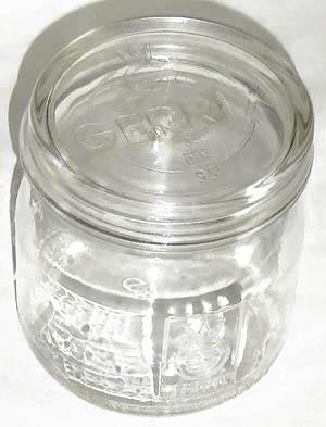 gerrix einmachglas 5 aus dickem glas 3 4 liter ebay. Black Bedroom Furniture Sets. Home Design Ideas