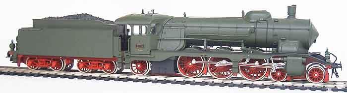 Roco H0 Schlepptender Lokomotive 43216, BR C der K.W.St.